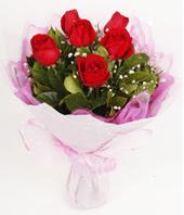 9 adet kaliteli görsel kirmizi gül  online bursa çiçek siparişi