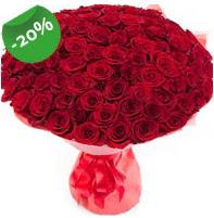 Özel mi Özel buket 101 adet kırmızı gül  Bursa çiçek ucuz çiçek gönder