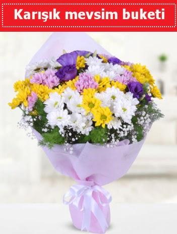 Karışık Kır Çiçeği Buketi  Bursaya çiçek siparişi vermek
