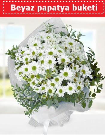 Beyaz Papatya Buketi  Bursa çiçek gönder