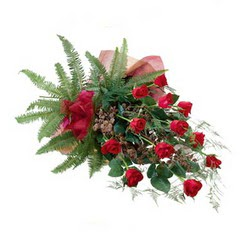 Bursa çiçek yolla   10 adet kirmizi gül özel buket çiçek siparisi