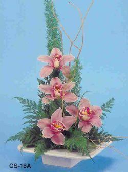Bursaya çiçek yolla  vazoda 4 adet orkide