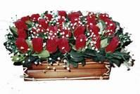 yapay gül çiçek sepeti   Bursa çiçek siparişi