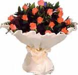 11 adet gonca gül buket   Bursa cicekci bursaya çiçek yolla