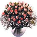büyük cam fanusta güller   çiçek yolla bursa