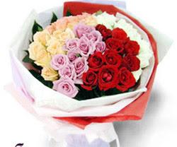SEVENLERE ÖZEL 51 ADET GÜL  Bursadaki çiçekçiler