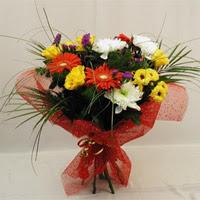 Çiçekçi Bursa  Karisik mevsim demeti