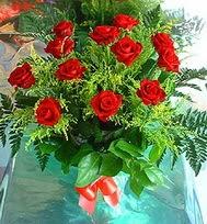 12 adet gül buketi  Bursa çiçek ucuz çiçek gönder