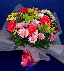 karisik sade mevsim demetligi   Bursa çiçek gönder