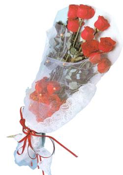 11 adet kirmizi güller buket tanzimi   Bursa çiçekçisi hediye çiçek yolla