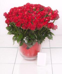 Bursa online çiçekçi  101 adet kirmizi gül
