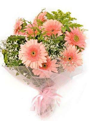 bursa çiçekçiler çiçek satışı  11 adet gerbera çiçegi buketi