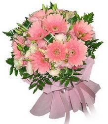 Bursa çiçek gönder  Karisik mevsim çiçeklerinden demet