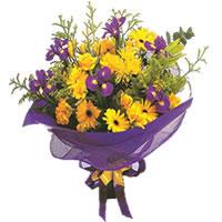 Bursa cicekci bursaya çiçek yolla  Karisik mevsim demeti karisik çiçekler