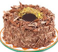 çikolatali 4 ile 6 kisilik yas pasta  Bursa online çiçek siparişi