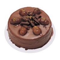 Kestaneli çikolatali yas pasta  Bursa çiçek gönderimi
