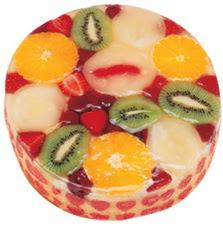 Meyvali 4 ile 6 kisilik yas pasta leziz  Çiçekçi Bursa