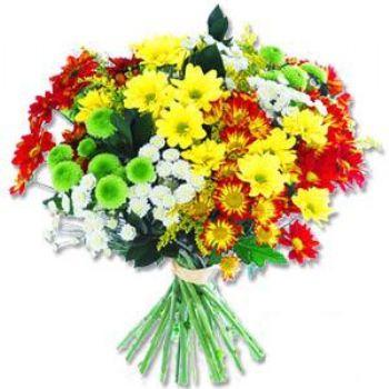 Kir çiçeklerinden buket modeli  Bursa çiçek yolla