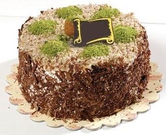pasta gönderme 4 ile 6 kisilik çikolatali yas pasta  bursa çiçekçiler çiçek satışı
