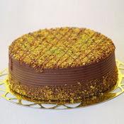 sanatsal pastaci 4 ile 6 kisilik krokan çikolatali yas pasta  Bursa online çiçekçi