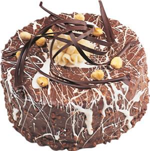pasta satisi 4 ile 6 kisilik çikolatali yas pasta  Bursa çiçek çiçekçi