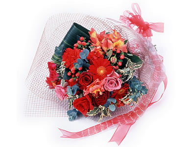 Karisik buket çiçek modeli sevilenlere  Bursa çiçek yollama çiçek satışı
