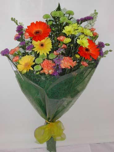 karisik kir çiçek buketi çiçek gönderimi  Bursa çiçek gönder