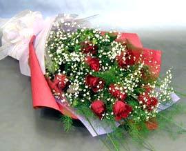 10 adet kirmizi gül çiçegi gönder  Bursa çiçek ucuz çiçek gönder