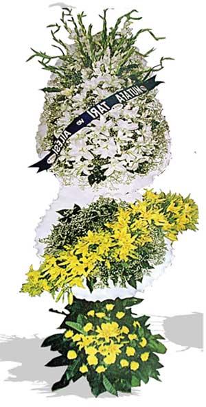 Dügün nikah açilis çiçekleri sepet modeli  Bursa çiçek gönderimi