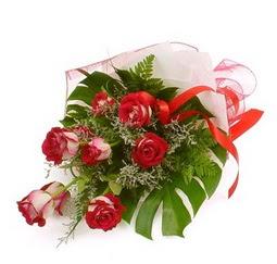 Çiçek gönder 9 adet kirmizi gül buketi  Bursa çiçek siparişi