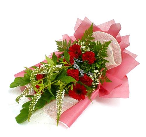 Karisik çiçek buketi mevsim buket  Bursa çiçekçisi hediye çiçek yolla