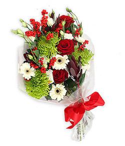 Karisik mevsim buketi çiçek tanzimi  Bursa çiçek çiçekçi