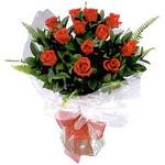Bursa çiçek gönderimi  9 adet güzel bir gül buketi