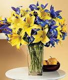 Bursa çiçek ucuz çiçek gönder  Lilyum ve mevsim  çiçegi özel