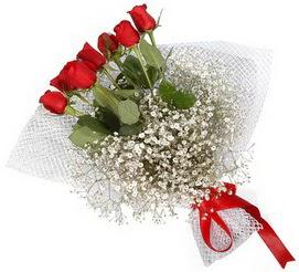 7 adet essiz kalitede kirmizi gül buketi  Bursadaki çiçekçiler