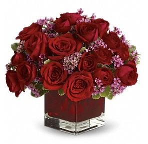 11 adet kırmızı gül vazosu  Bursa çiçek yolla çiçek , çiçekçi , çiçekçilik