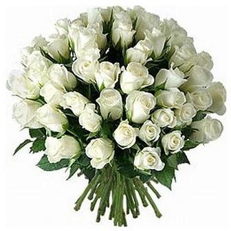 Bursa online çiçek siparişi  33 adet beyaz gül buketi