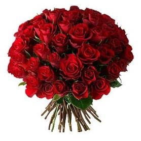 Bursa çiçek gönderimi  33 adet kırmızı gül buketi