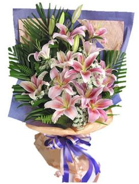 7 dal kazablankadan görsel buket  Bursa çiçek gönderme merkezi