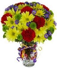 En güzel hediye karışık mevsim çiçeği  Çiçekçi Bursa
