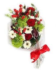 Kız arkadaşıma hediye mevsim demeti  Bursa çiçek yolla