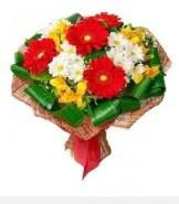 1 demet karışık buket  Bursadaki çiçekçiler