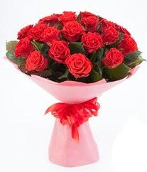 15 adet kırmızı gülden buket tanzimi  Bursa çiçekçisi hediye çiçek yolla