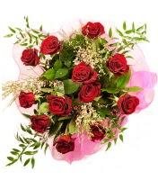 12 adet kırmızı gül buketi  Bursa çiçek gönder