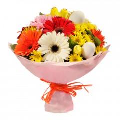 Karışık mevsim buketi Mevsimsel çiçek  Bursa çiçek çiçekçi