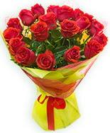 19 Adet kırmızı gül buketi  Bursa çiçek siparişi