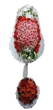 çift katlı düğün açılış sepeti  Bursadaki çiçekçiler