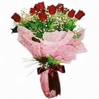Bursa çiçekçisi hediye çiçek yolla  12 adet kirmizi kalite gül