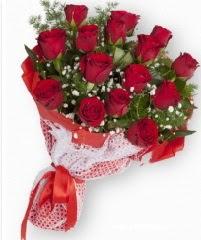 11 adet kırmızı gül buketi  Bursa çiçek gönder