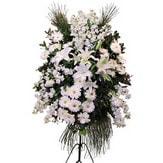 Bursa online çiçekçi  Ferforje beyaz renkli kazablanka